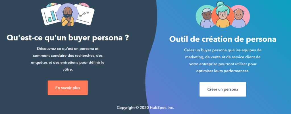 outil hubspot make my persona